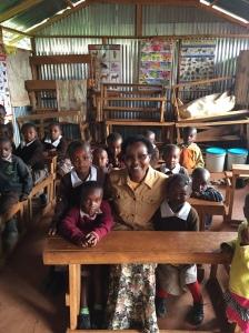 Wanji with Children